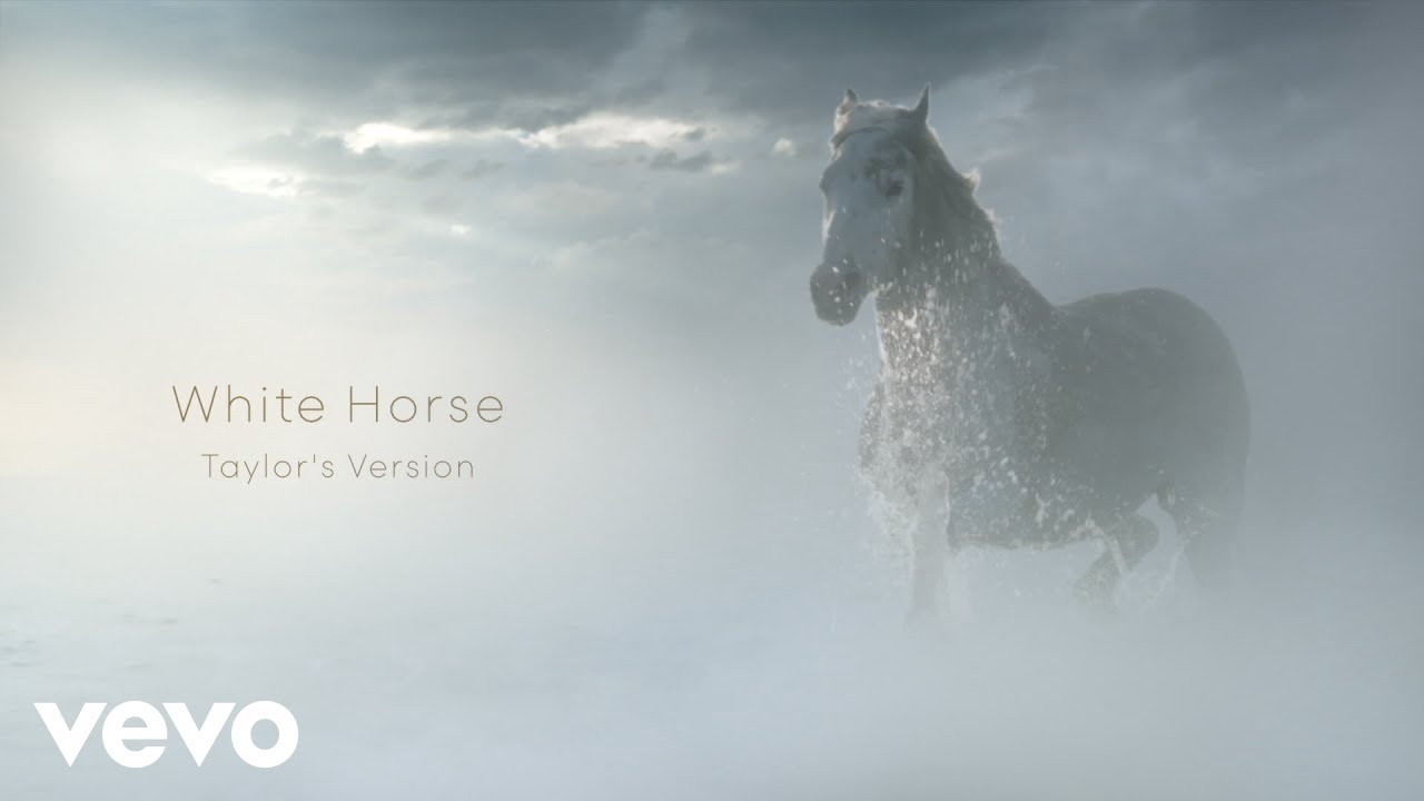 Taylor Swift - White Horse (Taylor's Version) (Lyric Video)
