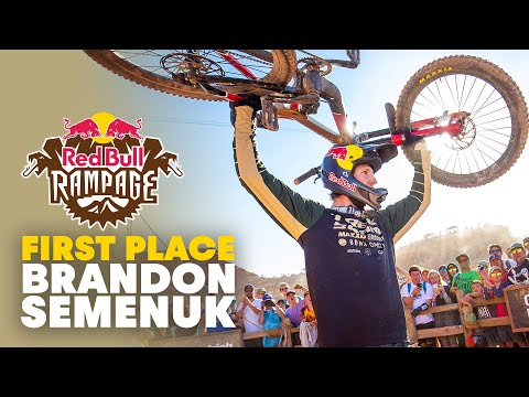 Brandon Semenuk's Winning Run | Red Bull Rampage 2019