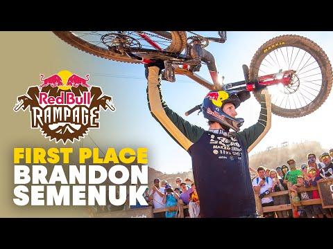 Brandon Semenuk's Winning Run   Red Bull Rampage 2019