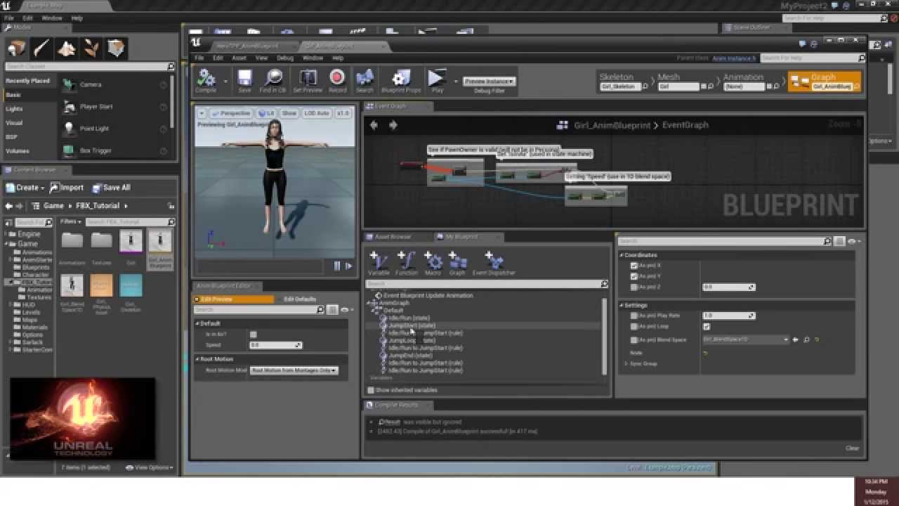 FBX - Unreal Engine 4 - Motionbuilder - 3ds Max - Daz Studio Tutorial