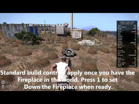 A3 Epoch Wiki: Crafting / Building Fireplaces