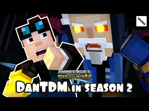 DanTDM Vs ADMIN In SEASON 2 Minecraft Story Mode - Above And Beyond