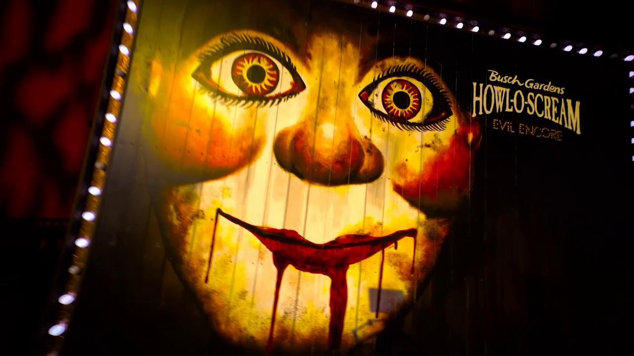 Busch Gardens Tampa Howl O Scream 2017 Trailer Youtube