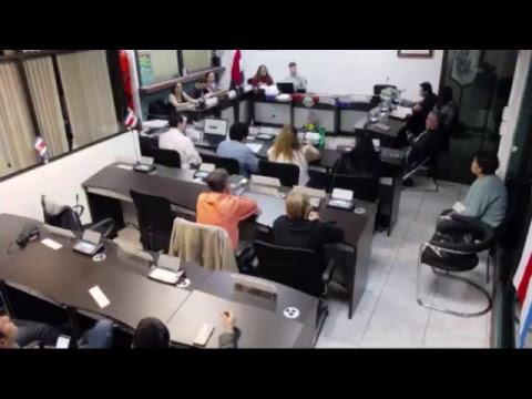 Sesión Extraordinaria - 05 de Septiembre 2018 - Presentación Presupuesto Ordinario 2019