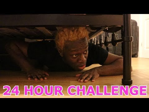 I Spent the Night in my Parents House & They had No Idea... (24 Hour Challenge)
