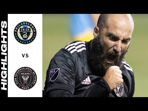 Philadelphia Union Inter Miami Goals And Highlights