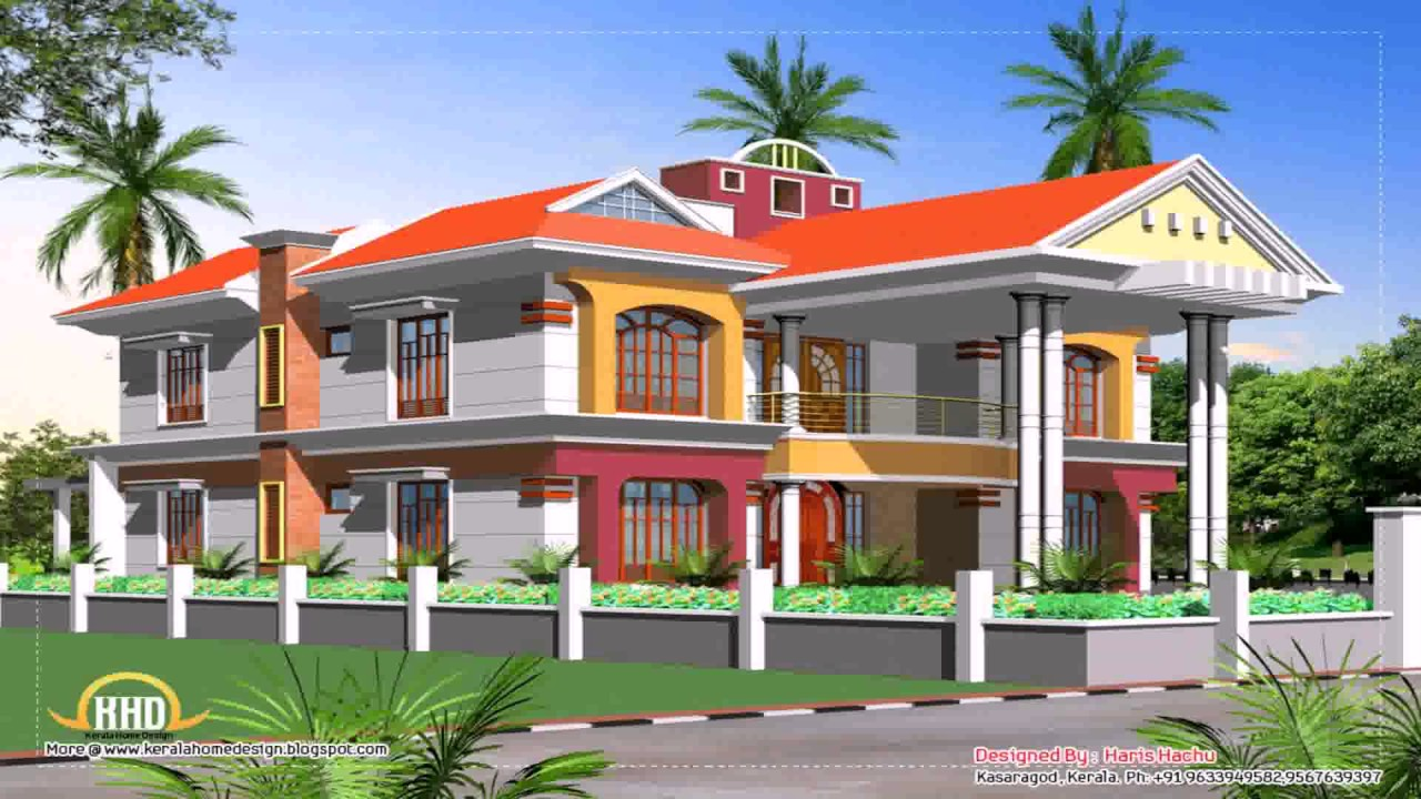 South Indian Duplex House Plans With Elevation Free - YouTube