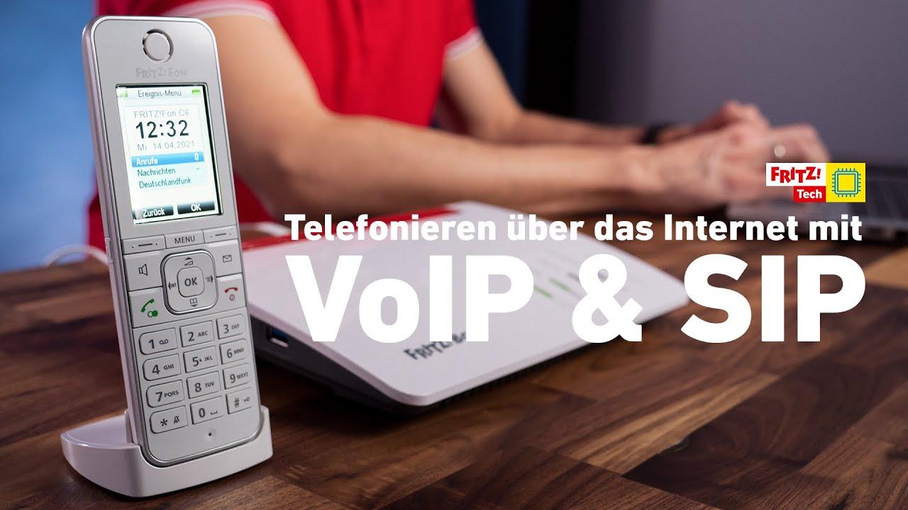 Telefonieren über das Internet mit VoIP und SIP | FRITZ! Tech 02