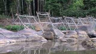BARRAGE ANTI-ORPAILLEUR (Saut Sonnelle en Guyane - 2012)