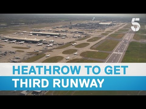 Third runway at Heathrow Airport set to get the green light - 5 News
