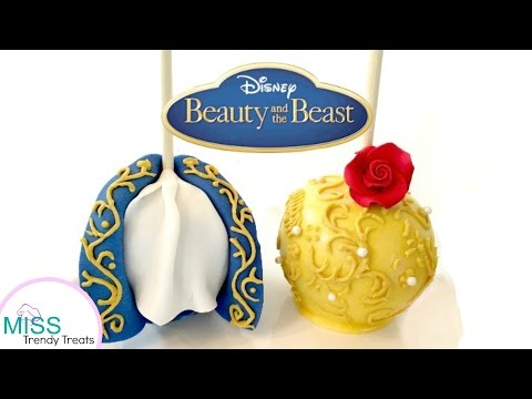 BEAUTY AND THE BEAST CANDY APPLES! - MISS TRENDY TREATS