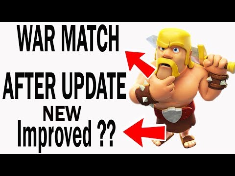 NEW Clan War Matchmaking AFTER NEW Improvements ?? In Clash Of Clans