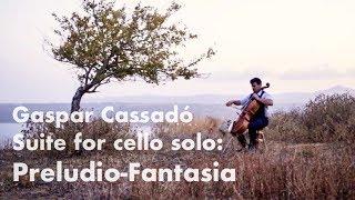 Gaspar Cassadó - Suite: Preludio-Fantasia - Michael Heupel