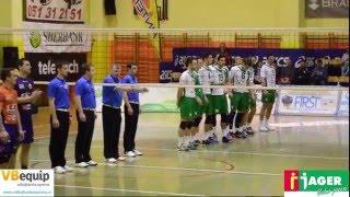 ACH Volley tudi v polfinalu boljši od Panvite