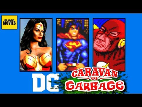 Best & Worst DC Comics Games -  Caravan Of Garbage