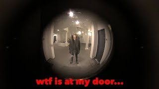Demonic Figure Knocked on my Door at 3AM... (and this is what happened)