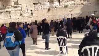 Израиль. Иерусалим. Стена плача 19.01.15 год(, 2015-01-23T17:35:45.000Z)