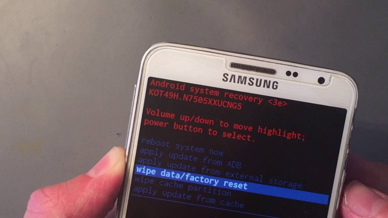 Hard reset samsung galaxy note 3 neo youtube ccuart Image collections