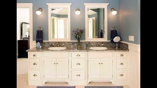 Top 40 Bathroom Cabinets Design Ideas | DIY Over Toilet Organizing Paint Makeover Installations 2018