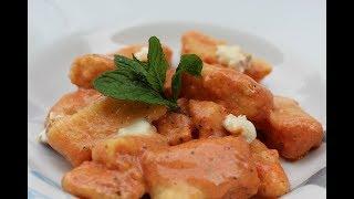 Fluffy Homemade Gnocchi