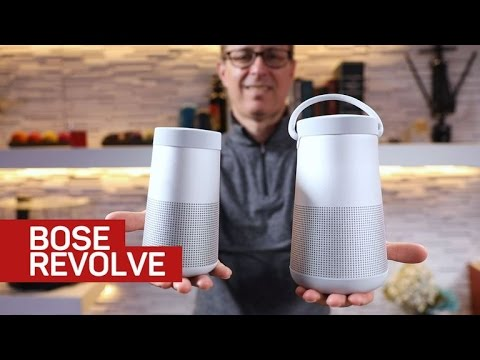 Bose SoundLink Revolve and Revolve Plus ratchet up the sound quality