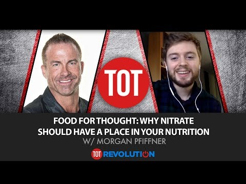Food for Thought: Why Nitrate Should Have a Place in Your Nutrition w/Morgan Pfiffner