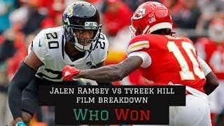 All 22 Film Breakdown || Tyreek Hill vs Jalen Ramsey || Chiefs vs Jaguars
