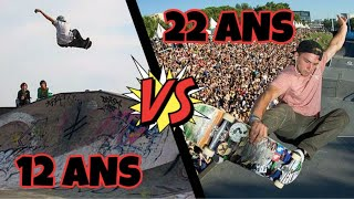 12ANS VS 22 ANS : SKATEBOARD EVOLUTION