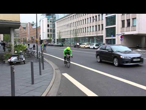"Frankfurt Downtown / Team AfriQa / "" Refugee on Move """