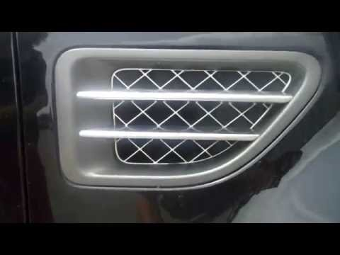 How To Fit 2010 Style Side Vents To 2005 Range Rover Sport