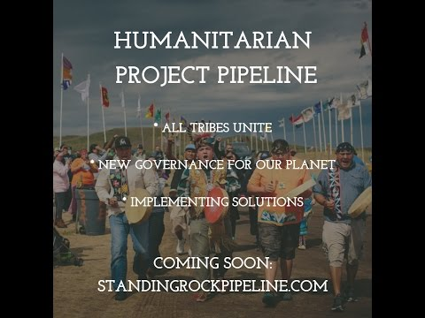 Standing Rock Pipeline - We The People, Uniting, Implementing Solutions