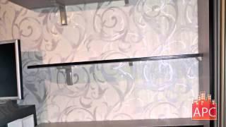 видео встроенный шкаф купе в гостиной