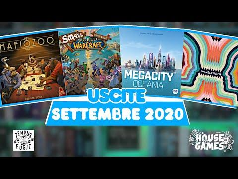 I Giochi da Tavolo in USCITA a SETTEMBRE 2020 | Un rientro con il BOTTO!