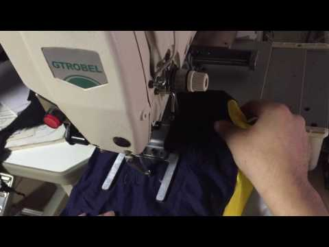 Quality GDB 210D Pattern Sewing Machine  for garment factory or shoe factory-2