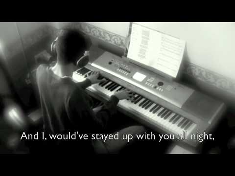 How To Save A Life - The Fray On Piano (New Version; With Lyrics)