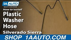 How to Replace Windshield Washer Hose 00-06 Chevy Suburban