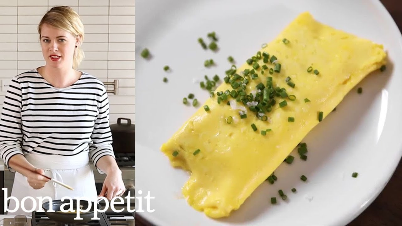 The Perfect French Omelet Is Super Runny, Bright Yellow, and Full of Butter | Bon Appetit