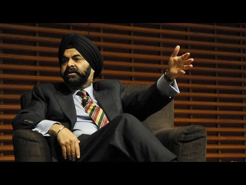 MasterCard CEO Ajay Banga on Taking Risks in Your Life and C