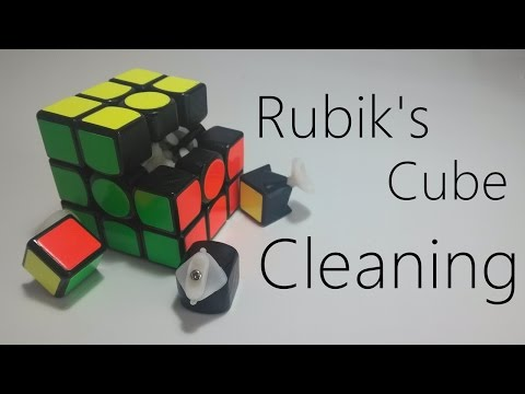 Rubik's cube - Cleaning