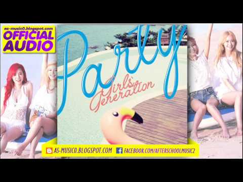 MP3DL01 GIRLS GENERATION 소녀시대  PARTY