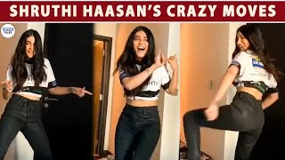 EXCLUSIVE : SHRUTHI HAASAN HIGH ON FOOD| LittleTalks