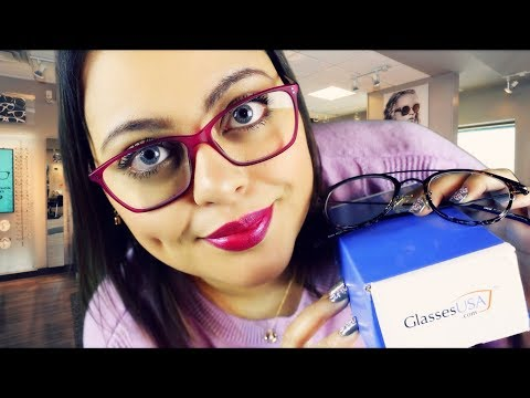 ASMR| Eyeglasses Consultation & Fitting