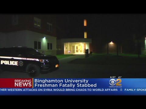 Binghamton University Freshman Fatally Stabbed