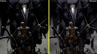 Dark Souls Remastered Nintendo Switch vs PS3 Original Early Graphics Comparison