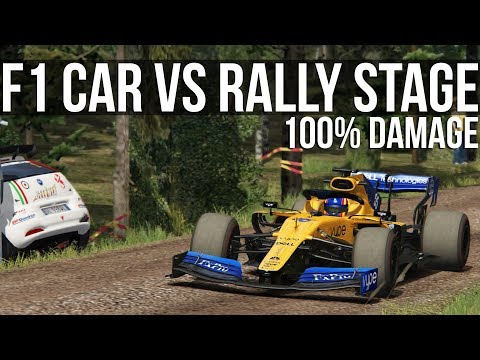 Can A Formula 1 Car Survive A Rally Stage?
