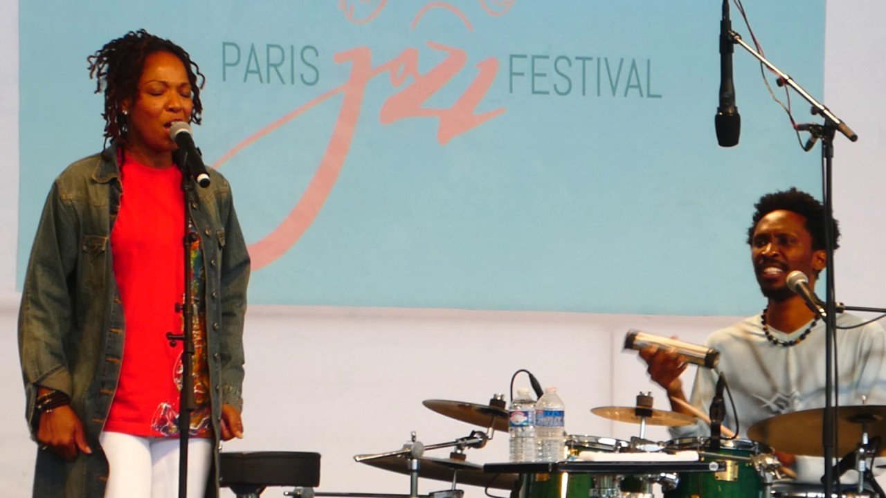 Lisa Simone | Suzanne (Sonny Troupé, drums) Paris Jazz Festival 23/07/2017