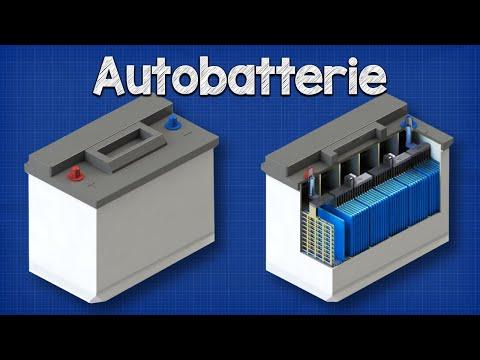 Wie eine Autobatterie