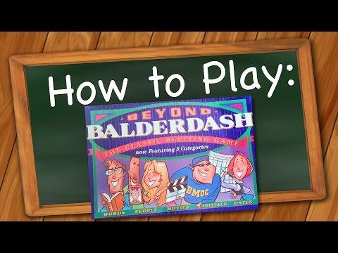 How to Play: Beyond Balderdash