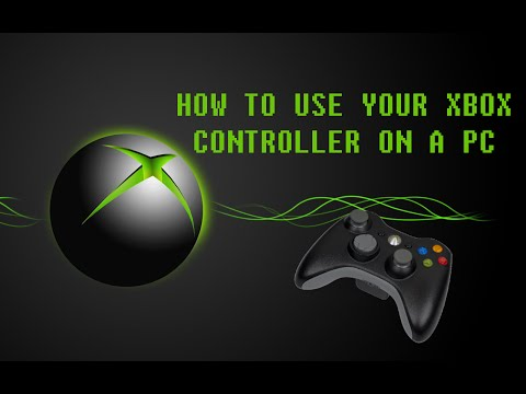 how to use your xbox controller on pc