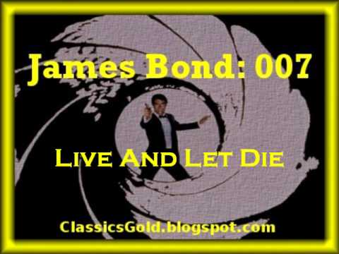 James Bond 007- Live And Let Die by Paul Mccartney - YouTube